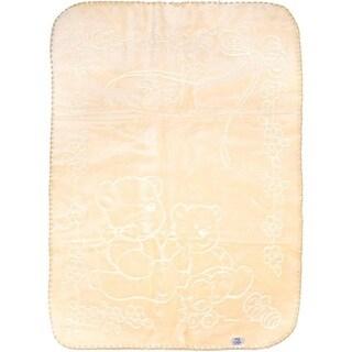 Big Oshi Fuzzy Plush Spanish Blanket