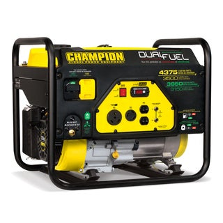 Champion Power Equipment 100307 3500 Watt Dual Fuel RV Ready Portable Generator