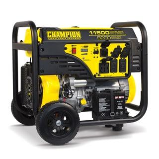Champion Power Equipment 100110 9200 Watt Portable Generator with Electric Start