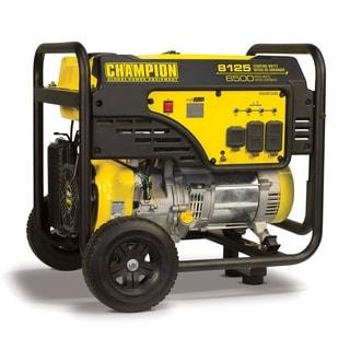 Champion Power Equipment 100109 6500 Watt Portable Generator with Wheel Kit