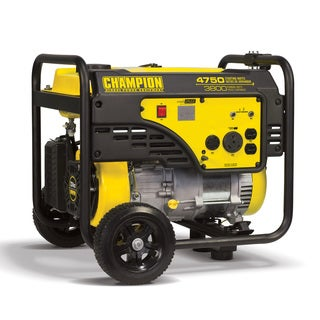 Champion Power Equipment 100103 3800 Watt RV Ready Portable Generator with Wheel Kit
