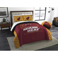 The Northwest Company NBA Miami Heat Reverse Slam Full/Queen 3-piece Comforter Set