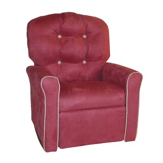Dozydotes Dusty Rose/Oyster 4-button Accent Rocker Recliner