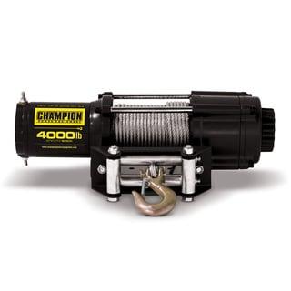 Champion Power Equipment 14001 4000-pound ATV/UTV Winch Kit (12V DC)