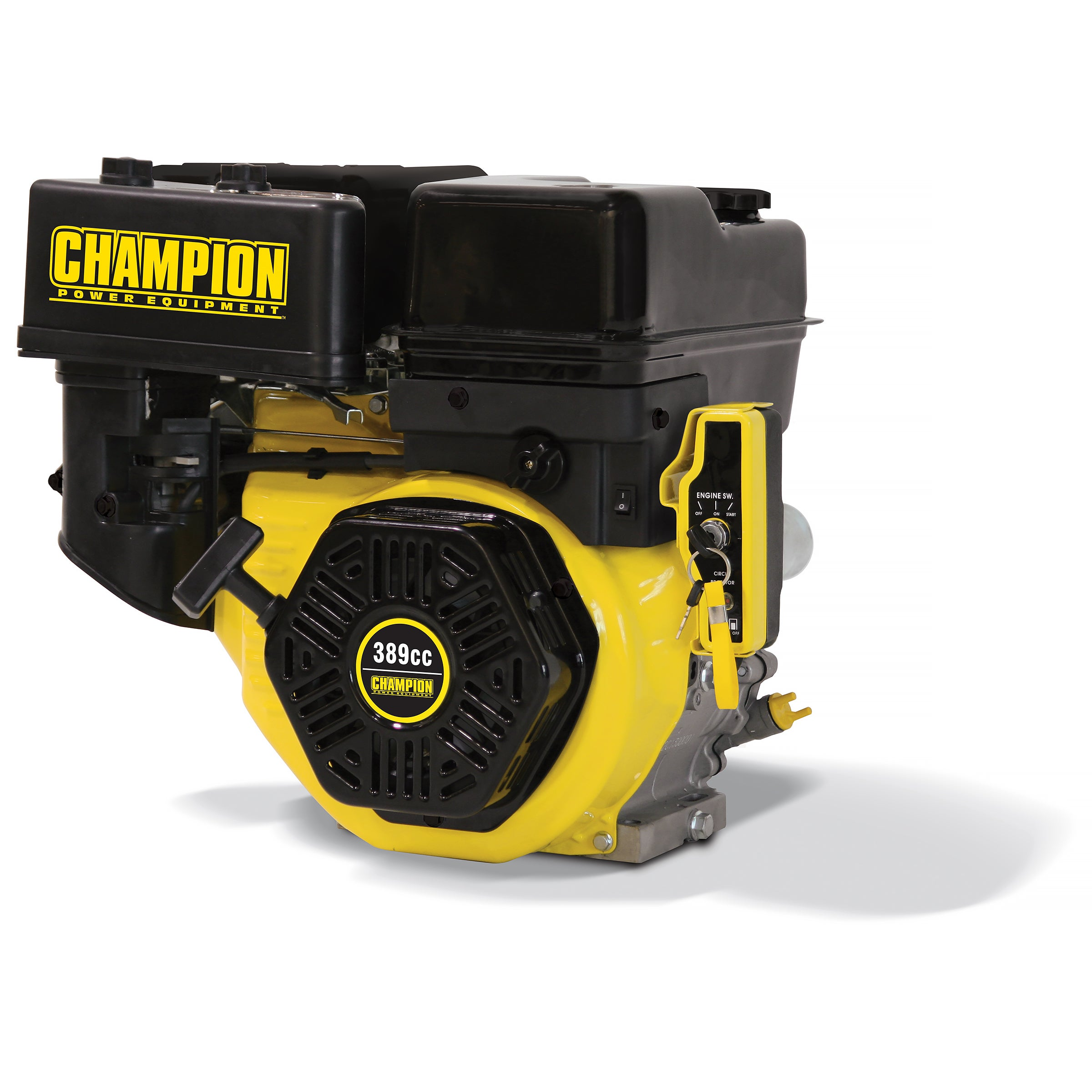 Champion 389cc General Purpose Horizontal Replacement Engine with Electric Start (389cc General Purpose Replacement Engine)