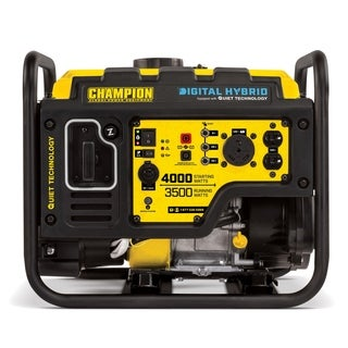 Champion Power Equipment 100302 3500 Watt Digital Hybrid RV Ready Portable Generator with Quiet Technology