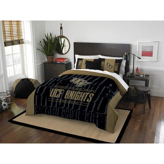 The Northwest Company COL Central Florida Modern Take Black/Gold Full/Queen 3-piece Comforter Set