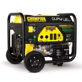 Champion Power Equipment 100297 8000 Watt Dual Fuel Portable Generator with Electric Start