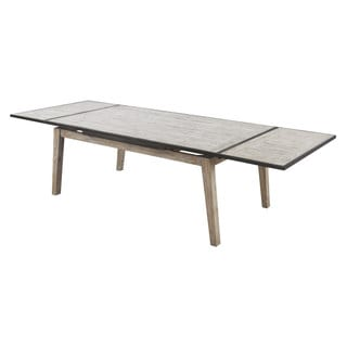 Emerald Synchrony Solid Pine Extension Dining Table