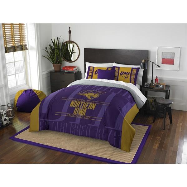 The Northwest Company COL 849 Northern iowa Modern Take Full/Queen 3-piece Comforter Set
