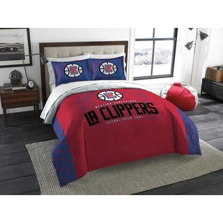 The Northwest Company NBA 849 Clippers Reverse Slam Full/Queen 3-piece Comforters Set