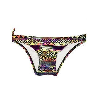 The Keyhole Neon Tribal Spandex/Nylon Bottom