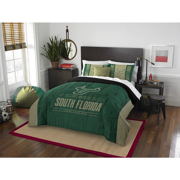 The Northwest Company COL South Florida Modern Take Green Full/Queen 3-piece Comforter Set
