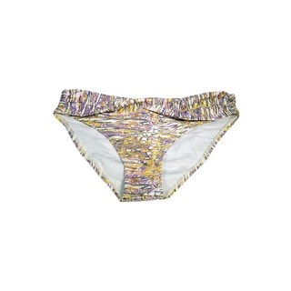 Women's Ceramic Art Twist-front Bikini Bottoms