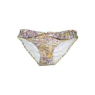 Women's Ceramic Art Twist-front Bikini Bottoms