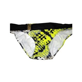 Women's Gypsy Multicolor Nylon and Spandex Buckle Bikini Bottom (4 options available)