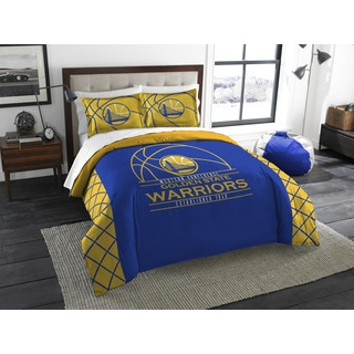 The Northwest Company NBA Golden State Warriors Multicolored Full/Queen 3-piece Comforter Set