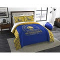 The Northwest Company Golden State Warriors Multicolored Polyester Full/Queen 3-piece Comforters Set