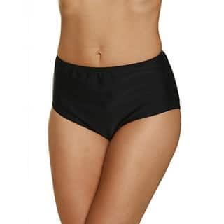 Women's Black Pant Bikini Bottoms|https://ak1.ostkcdn.com/images/products/13262546/P19974674.jpg?impolicy=medium