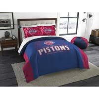 The Northwest Co NBA 849 Pistons Reverse Slam Full/Queen 3-piece Comforters Set