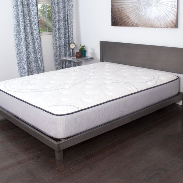 nuform 10 inch full size cool response foam mattress free shipping today overstock 19974571. Black Bedroom Furniture Sets. Home Design Ideas