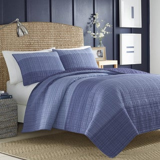 Nautica Riverview Cotton Quilt or Sham