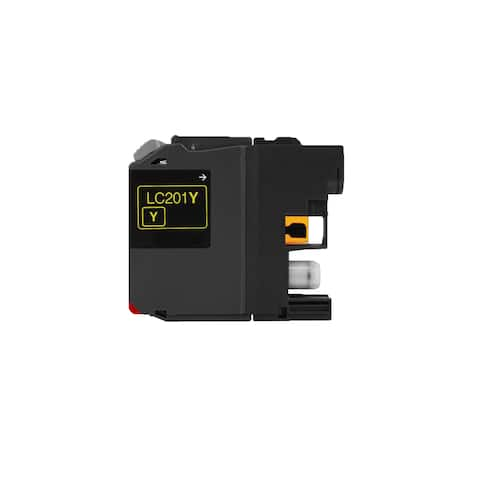 1PK Compatible LC201 Y XL Inkjet Cartridge For Brother MFC J460DW J480DW J485DW J680DW ( Pack of 1 )