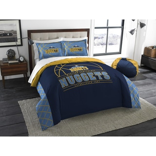 The Northwest Company NBA Denver Nuggets Reverse Slam Full/Queen 3-piece Comforter Set