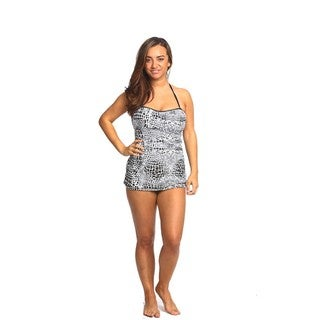 Ally Tankini Set with Matching Pareo