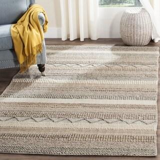 Safavieh Natura Handmade Bohemian Beige Wool Rug (3' x 5')