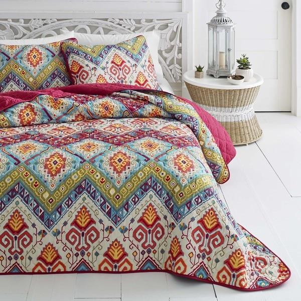 Azalea Skye Moroccan Nights Quilt Set - On Sale - Free Shipping ... : orange quilt - Adamdwight.com