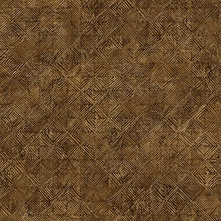 Brewster Brown Textured Geometric Wallpaper