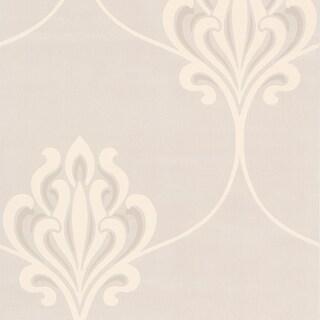 Brewster Cream Noveau Damask Wallpaper