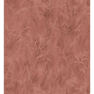 Brewster Red Fern Wallpaper