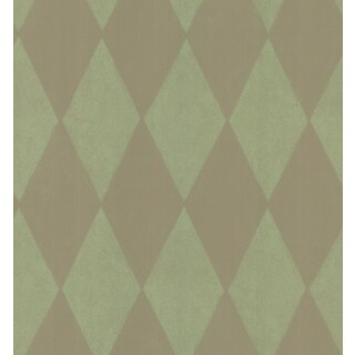 Brewster Harlequin Green Pre-pasted Nonwoven Wallpaper