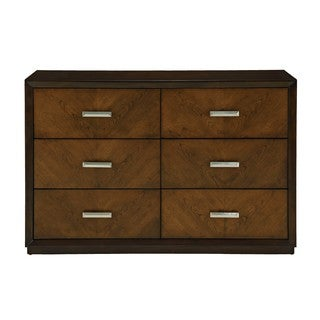 Hayden Cherry Wood Double Dresser