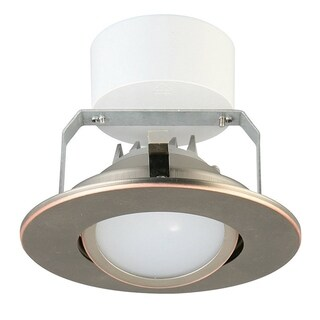 Lithonia Lighting 4G1ORB LED 30K 90CRI M6 3000K Oil-Rubbed Bronze 4-inch LED Gimbal Module