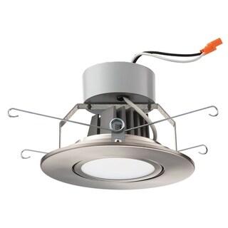 Lithonia Lighting 5G1BN LED 30K 90CRI M6 Brushed Nickel 5-inch 3000K LED Gimbal Module