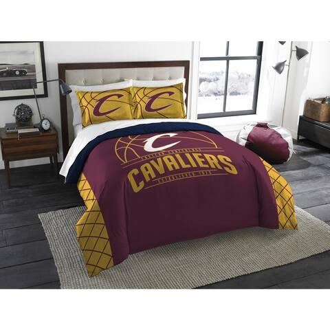 The Northwest Company NBA Cleveland Cavaliers Reverse Slam Full/Queen 3-piece Comforter Set