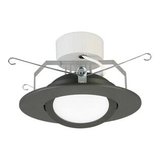 Lithonia Lighting 6G1MB LED 30K 90CRI M6 Matte Black Metal 6-inch 3000K LED Gimbal Module