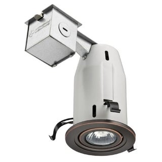 Lithonia Lighting LK3GORB LED LPI M6 Oil-rubbed Bronze Aluminum 3-inch Gimbal LED Kit with Bulb