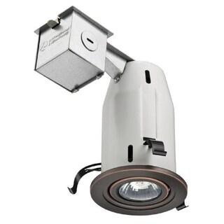 Lithonia Lighting LK3GORB LED LPI M6 Oil-rubbed Bronze Aluminum 3-inch Gimbal LED Kit with Bulb