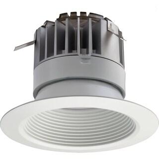Lithonia Lighting 4BPMW LED M4 White Acrylic 4-inch Recessed LED Baffle Downlight