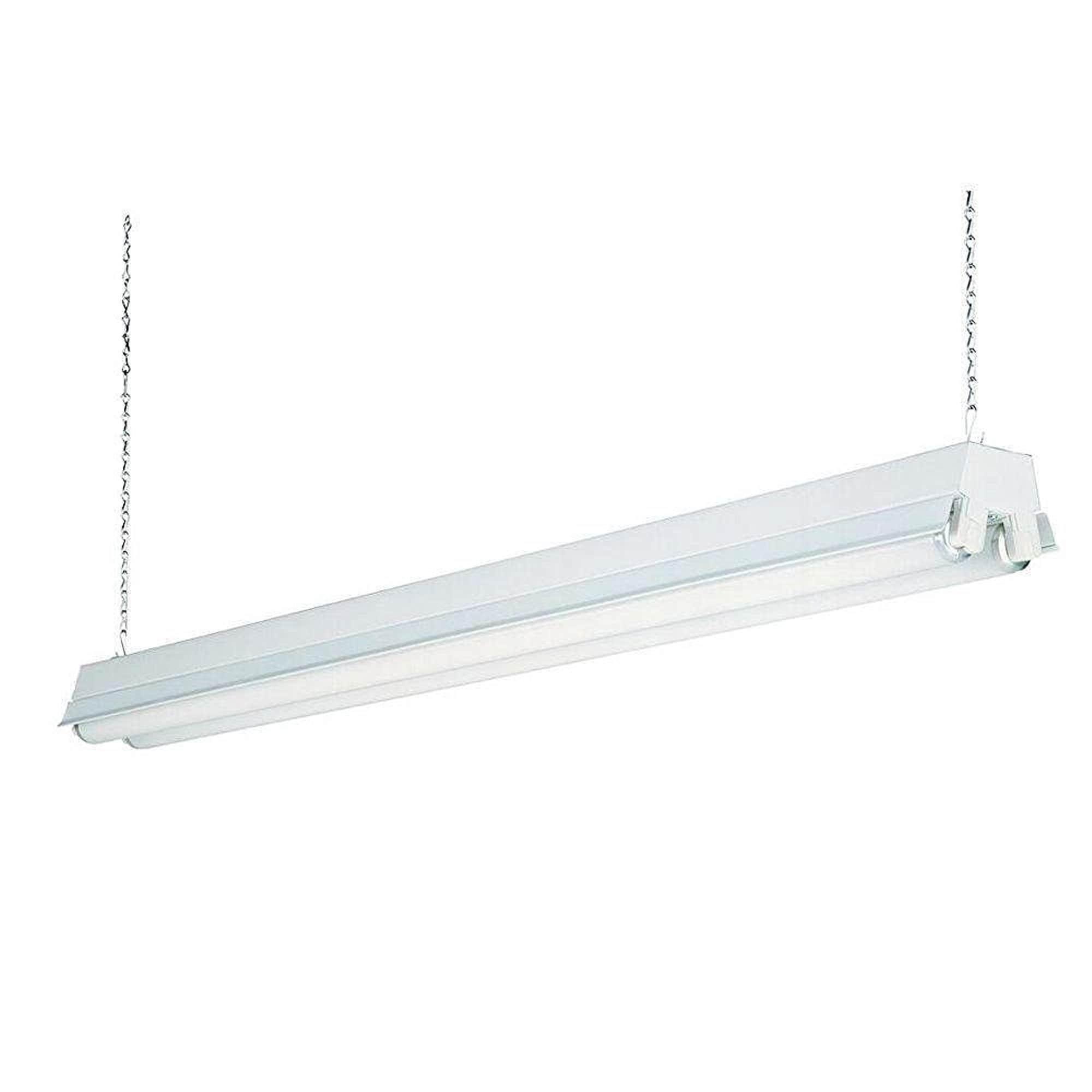Lithonia Lighting 1233 Re White 2 Light T8 Fluorescent Residential