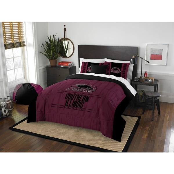 The Northwest Company COL 849 So Illionois Modern Take Full/Queen 3-piece Comforter Set
