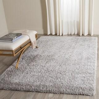Safavieh Indie Shag Grey Polyester Rug (3' x 5')