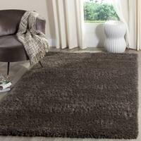 Safavieh Indie Shag Dark Grey Polyester Rug - 3' x 5'