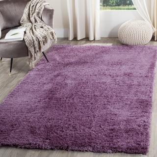Safavieh Indie Shag Purple Polyester Rug (3' x 5')