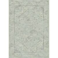 Safavieh Vintage Oriental Light Blue Distressed Silky Viscose Rug (4' x 6')