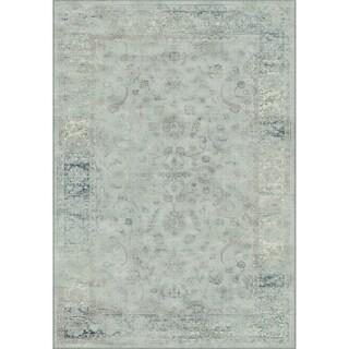 Safavieh Vintage Oriental Light Blue Distressed Silky Viscose Rug (3' x 5')